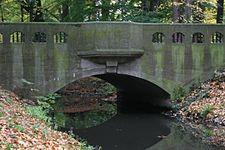Park Sołacki w Poznaniu ,most nad Bogdanką - 7596