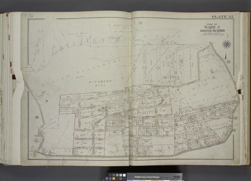 File:Part of Ward 3. (Map bound by London Road, Meisner Ave, Rockland Ave (Egbert), Richmond Road, Church St, Old Mill Road, Richmond Hill Road) NYPL1646253.tiff
