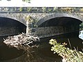 Part of the railway bridge over the River Calder, Hopton, Mirfield - geograph.org.uk - 1038322.jpg