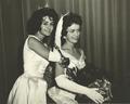 Pat McRaney, McComb, Miss., (Miss Miss., '60) crowning Annice Ray Jernigan, (Miss Miss. '61), photo at Vicksburg, Miss., Summer of '61.png