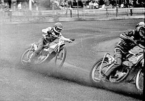 Paul Gachet (speedway rider) - Image: Paul Gachet home to Leicester 02