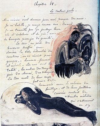 Spirit of the Dead Watching - Le Conteur Parle (Louvre manuscript), 1893-97, Louvre