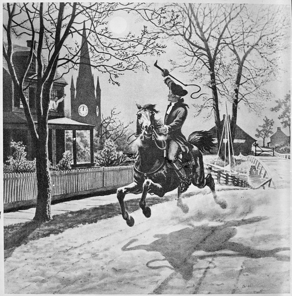Paul Revere's ride - NARA - 535721
