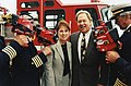 Paul and Phyllis Fireman after donating Bullard Thermal Imaging Cameras to the Brockton City Firefighters.jpg