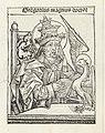 Paus Gregorius I Gregorius magnus doctor (titel op object) Liber Chronicarum (serietitel), RP-P-2016-49-83-14.jpg