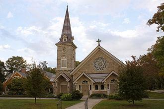 Peace Dale, Rhode Island - Image: Peace Dale Congregational Church