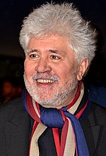 Photo of Pedro Almodóvar in 2017.