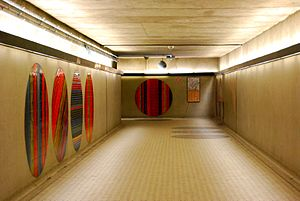 Peel station (Montreal Metro) - Underground tunnels at Peel.