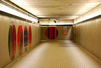 Peel station (Montreal Metro) - Underground tunnels at Peel.