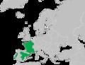 Pelodytes punctatus range Map.png