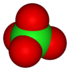 The perchlorate ion