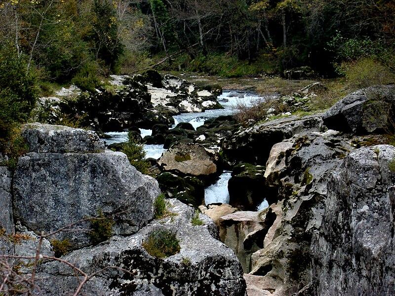 Près de Bellegarde sur Valserine
