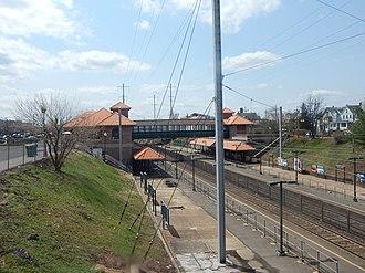 Perth Amboy station - Perth Amboy Station, April 2015.