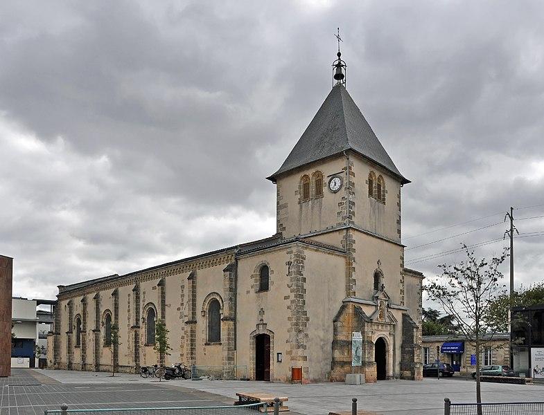 Pessac (Département de la Gironde, France): Saint-Martin church