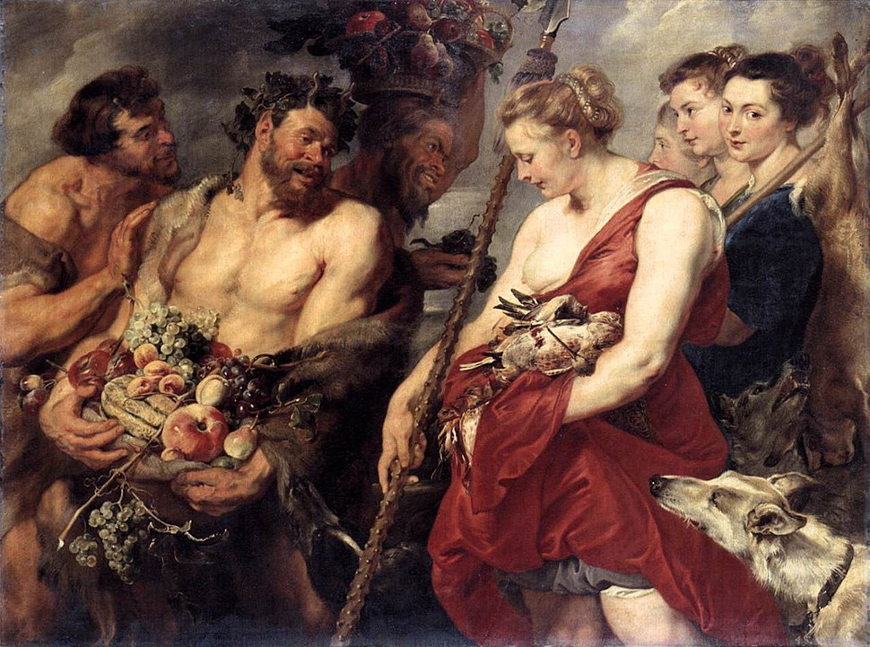 Peter Paul Rubens - Diana Returning from Hunt - WGA20290
