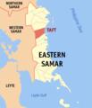 Ph locator eastern samar taft.png