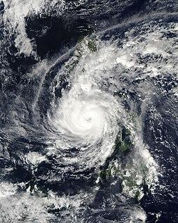 Typhoon Phanfone Pacific typhoon in 2019