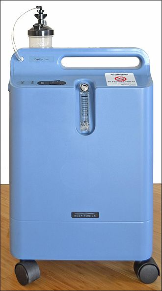 Oxygen concentrator - Philips Respironics Home Oxygen Concentrator.