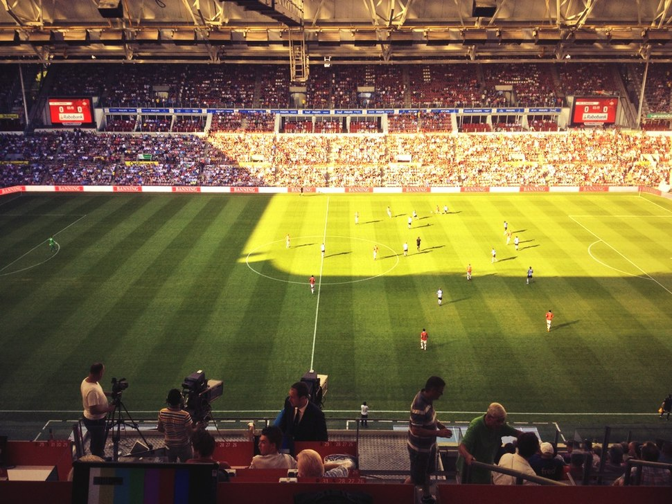 Philips Stadion press view