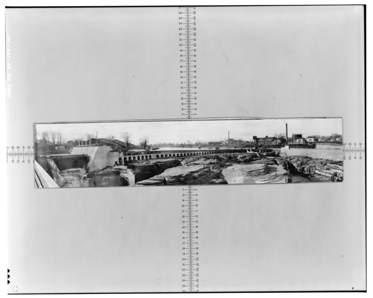 File:Photographic copy of photograph (at the offices of Finch, Pruyn and Company, Glen Street, Glens Falls, New York), Beach?, Photographer, November 25, 1913. View southwest to HAER NY,57-GLEFA,1-20.tif