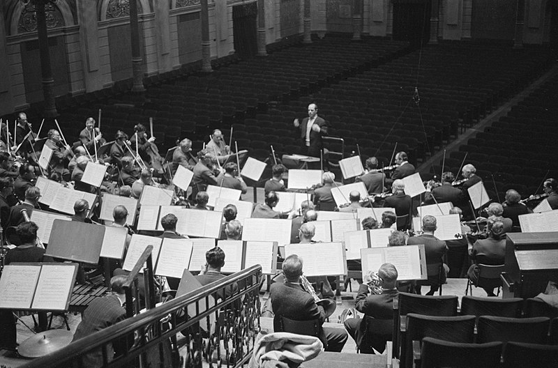 Bestand:Pierre Boulez gastdirigent bij het Concertgebouworkest, Bestanddeelnr 914-7938.jpg