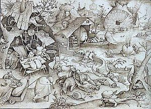 Pieter Bruegel the Elder: The Seven Deadly Sin...
