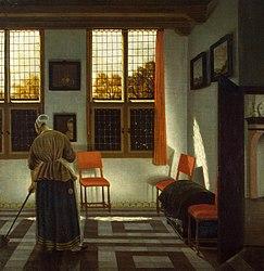 Pieter Janssens Elinga: Room in a Dutch House
