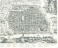 Pieter van der Aa, map of Pavia.jpg
