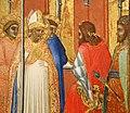 Pietro lorenzetti (attr.), san sabino davanti al governatore della toscana (forse), 1335-42 ca. 03.jpg
