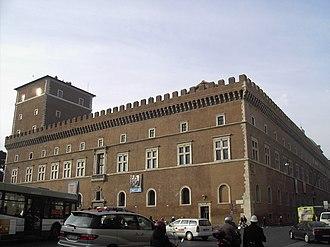 Grand Council of Fascism - Image: Pigna palazzo Venezia 2088