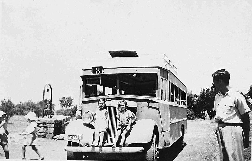 PikiWiki Israel 4230 children on bus in Mount Carmel