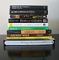 Pile of books about Wicca 2.JPG