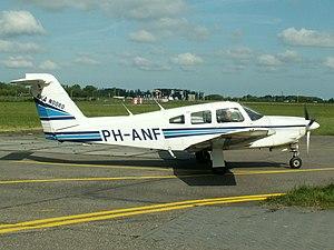 Piper PA-28 PH-ANF at Lelystad airport 2005.jpg