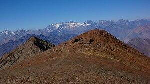 Cerro El Plomo - The site where the mummy was found