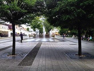 Bełchatów - Gabriel Narutowicz square