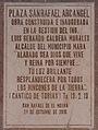 Placa en la plaza San Rafael Arcangel.jpg