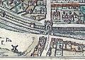 Plan de Paris vers 1530 Braun Paris Porte St-Honore.jpg