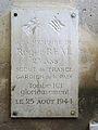 Plaque Roger Réal - Espace Pierre Cardin à Paris.JPG