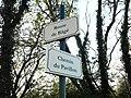 Plaques Route Bâgé Chemin Pavillon St Cyr Menthon 2011-11-23.jpg