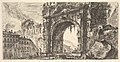 Plate 17- The Arch of Rimini built by Augustus (Arco di Rimino fabbricato da Augusto) MET DP827970.jpg