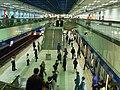 Platform in Jiangzicui Station.JPG