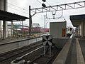 Platform of Sendai Station (Kagoshima Main Line & Hisatsu Orange Railway) 2.jpg