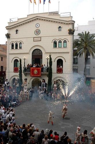 Badalona - Plaça de la vila