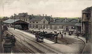 Plymouth Millbay railway station - After the 1903 rebuilding