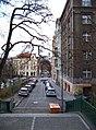 Pod Nuselskými schody a Fričova, z Nuselských schodů.jpg