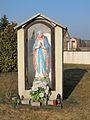 Podlaskie - Szudziałowo - Szudziałowo - Kościół pw. św. Wincentego Ferreriusza 20120317 09 kapliczka.JPG