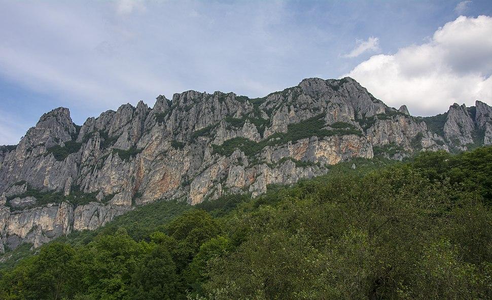 Pogled na Greben planinu