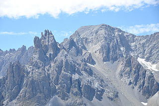 Pointe des Cerces mountain in Savoie, France