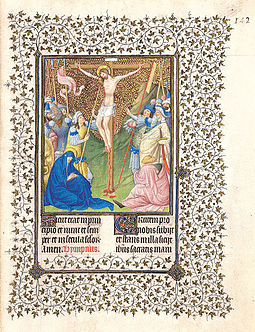 The Limbourg brothers' Belles Heures of Jean de France, Duc de Berry Pol, Jean, and Herman de Limbourg.jpg