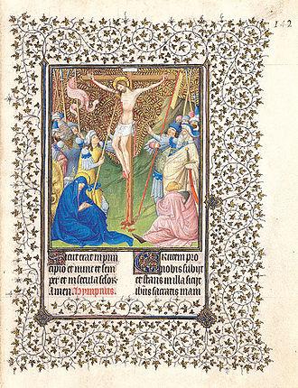 Belles Heures of Jean de France, Duc de Berry - Crucifixion